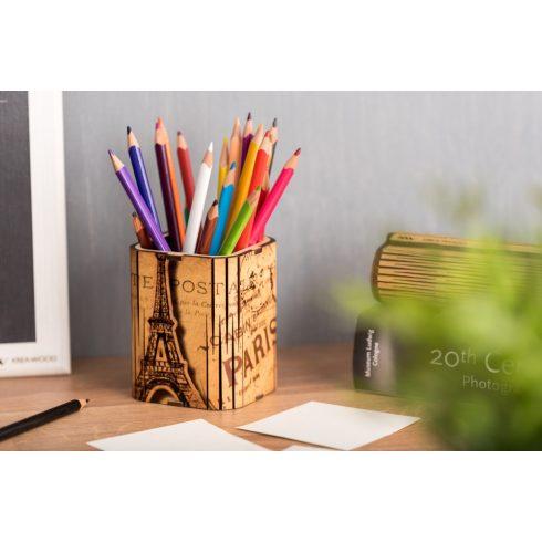 Írószertartó, Paris motívummal