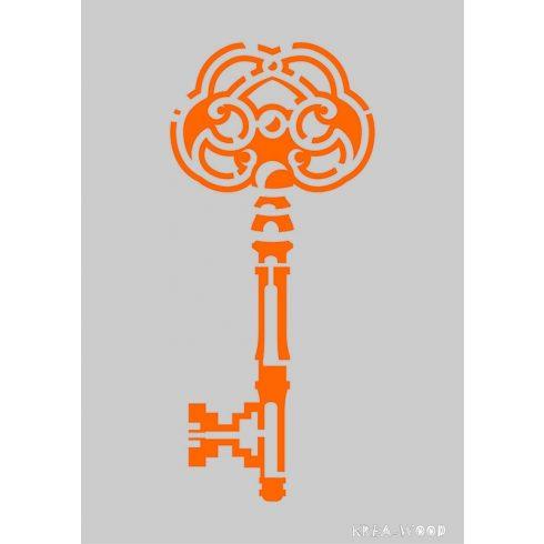 Stencil sablon A5, kulcs
