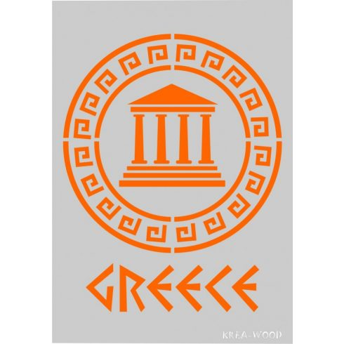 Stencil sablon A5, Görögország