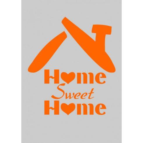 Stencil sablon A5, Home, sweet Home