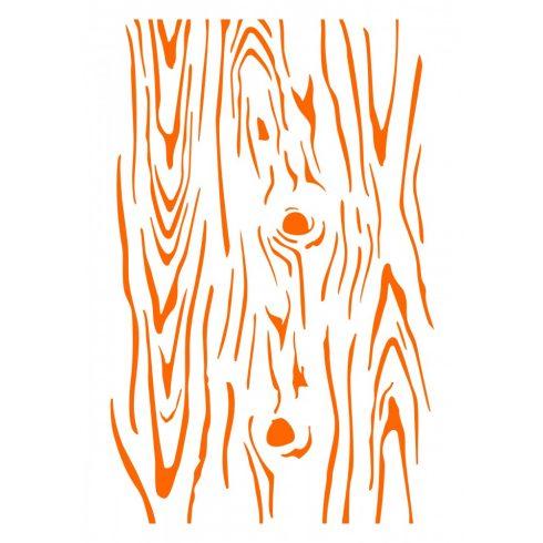 Stencil sablon A4, faerezetű mintával